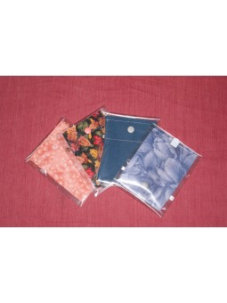 Pochettes tissu pour CEF